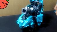 复原完了 索斯机械兽zoids ZW05加农炮污龟-萝卜吐槽番外模玩分享
