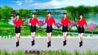 动感广场舞《叫一声二奶奶》48步附教学, 欢快搞笑, 简单好学, 河北青青广场舞