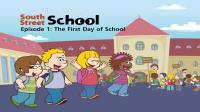 Little Fox小狐狸英语动画| 阳光学校1| 上学第一天| 美国学校生活