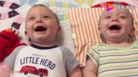 双胞胎真好玩, 双胞胎集锦, 弟弟睡着了, 哥哥吃独食, 好搞笑