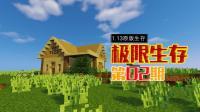 安家落户搭建生存小别墅——甜萝酱我的世界Minecraft 1.13原版极限生存#2