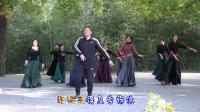 紫竹院广场舞——心上的罗加, 与江苏的杨老师共舞