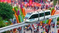 深圳欢乐谷观光列车追尾 后车突然加速多人受伤