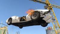【醉酒】GTA5OL 车头三叉戟喷射似火箭, 能爬墙能上天;手榴弹还能扔到炮管里面!