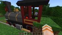 我的世界 模组 PE版realtrainmod 真实火车 火车音效!