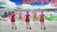 阳光美梅原创广场舞《纳西情歌》水兵舞风格32步附动作分解2-2018最新大众广场舞