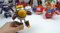 超级飞侠总动员 银河飞翔队 乐迪小爱多多朗朗各种飞行模具大联合