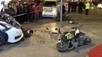 情侣车内打斗致车辆失控 1死6伤