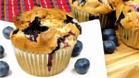 「烘焙教程」下午茶好糕点—藍莓蜂蜜杯子蛋糕
