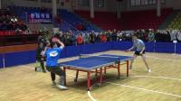 镇雄2018体彩杯乒乓球邀请赛-廖凯杰vs艾迪(3: 2)