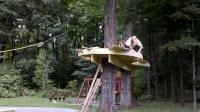 快速建造树屋 全过程