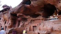 红石峡看石刻 宋元时期的九边重镇陕西榆林一景