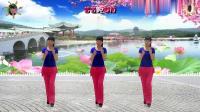 阳光美梅原创广场舞《动了情伤了爱》简单32步-编舞: 美梅2018最新广场舞带歌词