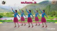 阳光美梅广场舞【雨中泪】优美形体舞-2018最新广场舞视频