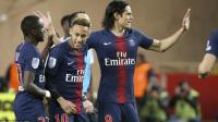 法甲-卡瓦尼戴帽内马尔点射建功 巴黎4-0摩纳哥豪取13连胜
