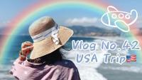 【Miss沐夏】Vlog No.42 USA Trip | 美国之行 | 一路经历很多气候 | 吃吃喝喝 | 旅行