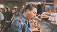 孤独的美食家:开在鱼市里的寿司店,太新鲜了,大叔点了一桌子菜