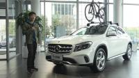 实拍车: 20万出头就能买的德系豪华SUV 实拍奔驰GLA