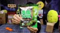 试吃日本抗饥饿食品, 吃进肚子会膨胀三十倍?