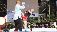 直接秒杀! 自由搏击选手5秒KO混元太极高手