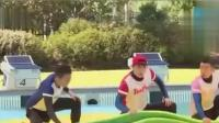 奔跑吧兄弟: 跑男兄弟一起在水上尬舞 , 太逗了!