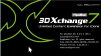 Reallusion 3DXchange 7.23 永久使用安装教程(配曲 凉凉)