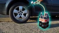 可乐和曼妥思放进车胎里会怎样? 老外实验, 结果出乎意料!
