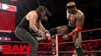 【RAW 11/12】里奥拉许耍诈 害伊莱亚斯被数秒淘汰 输给巴比莱斯利