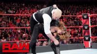 【RAW 11/12】(中字) 人间怪兽和公主达成协议 隆达罗西将独狼过肩摔