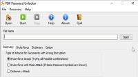 Pdf 文件密码记不得了怎么办, 不用急用这个软件就可以了。PDF Password Unlocker