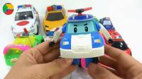 汽车挖掘机和警车玩具试玩, 婴幼儿宝宝玩具游戏视频F141