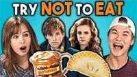【外国人挑战】只准看不准吃《哈利波特》篇食物!