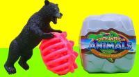 介绍草原小动物玩具