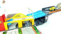 组装汽车跑道大箱车小汽车, 亲子互动儿童玩具, 悠悠玩具城