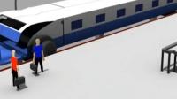 我国设计师给出设计: 高铁到站不停车, 乘客照样下车, 怎么做到的