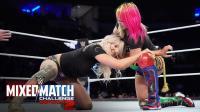 【WWE混双挑战赛】第十八场: 米兹飞踢落空 遭杰夫哈迪命运之轮