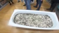 男子攒一浴缸硬币买iPhone 店员抓狂数完