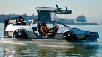 出租车司机花费五年, 自制水上汽车, 鸥翼车门太惊艳, 30万买不