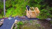 木屋 之 快速建造 好看又保暖的木屋