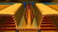 3D动画展示跨河大桥建造过程, 长见识了
