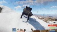 Rust腐蚀: 玩生存游戏还真不容易, 打猎还被野猪拱死