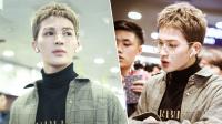 八卦:朱正廷穿高领毛衣现身机场 戴金框眼镜配板寸斯文帅气