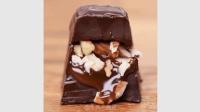 简单易做巧克力零食, 看着就很好吃!