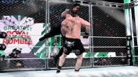 盘点罗曼经典必杀技 终结对手时刻 猛兽大布被撞出铁笼