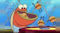 新版海绵宝宝! 用海神的武器做蟹堡王, 它们竟然自己会动?
