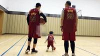 黄晓明晒祖孙三代打篮球照 感恩媳妇为爱为家默默付出