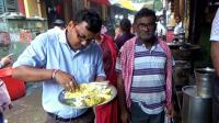 印度人吃饭全过程, 看看印度街边快餐店, 卫生怎么样?
