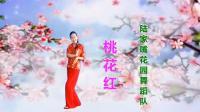 陆家嘴花园舞蹈队《桃花红》视频制作: 映山红叶