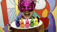 """妹子试吃""""小葫芦巧克力"""", 多色多味, 你喜欢哪一款"""