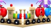 儿童玩具学英语小火车玩具快乐奔跑游乐场秒变一个大彩虹儿童英语